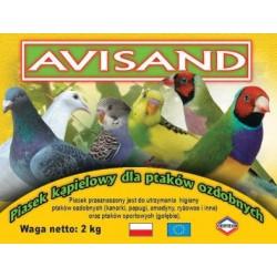AVISAND piasek kąpielowy dla ptaków ozdobnych 2 kg