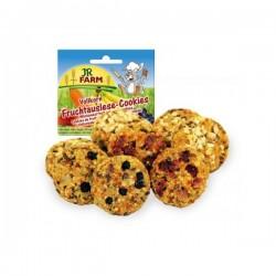JR FARM Pełnoziarniste ciastka owocowe 80 g