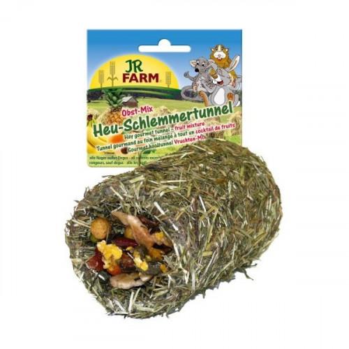JR FARM Tunel z siana, owocowa mieszanka 125 g