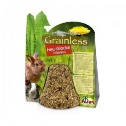 JR Grainless Dzwonek z siana z hibiskusem 125 g