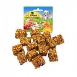 JR FARM Kostki jabłkowe z mąki pełnoziarnistej 90 g