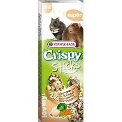 Crispy Sticks - Kolby Ryż & Warzywa 2 x 55g
