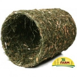 JR FARM Duży tunel z siana+naturalnego drewna 800 g