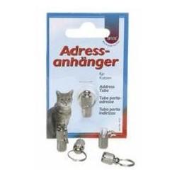 Adresówka mała dla psa lub kotka srebrna TRIXIE