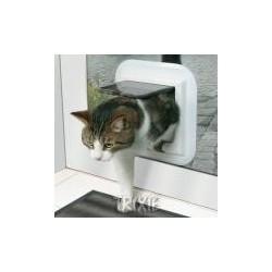 Drzwi dla kota FreeCat de Luxe- brązowe TRIXIE