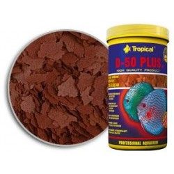 Pokarm płatkowany dla paletek D-50 PLUS 12 g TROPICAL