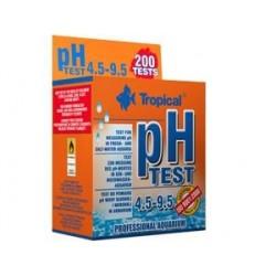 Kropelkowy test akwarystyczny TEST pH 4.5-9.5 TROPICAL