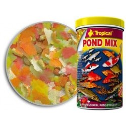 Mieszanka pokarmowa dla wszystkich ryb ogrodowych POND MIX 1000 ml / 160 g TROPICAL