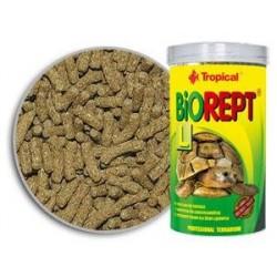 Wieloskładnikowe pałeczki dla żółwi lądowych BIOREPT L 100 ml / 28 g TROPICAL