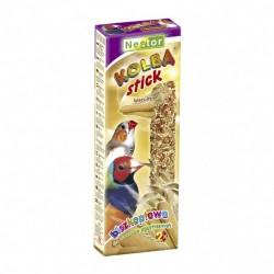 Kolba dla ptaszków egzotycznych z biszkoptami 2 sztuki NESTOR