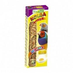 Kolba dla ptaszków egzotycznych z jajkami 2 sztuki NESTOR