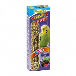 Kolba dla małych papug z owocami leśnymi 2 sztuki NESTOR