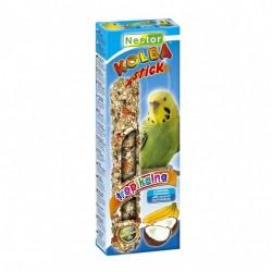 Kolba dla małych papug z kokosem i bananami 2 sztuki NESTOR
