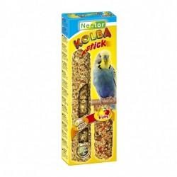"""Kolba """"2 w 1"""" dla małych papug - jajeczna i owocowa 2 sztuki NESTOR"""