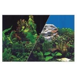 Plakat - dekoracje, pocięty czarny/rośliny 30/40 cm ZOLUX