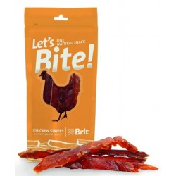 Brit Care Let´s Bite! Chicken Stripes 30 g BRIT