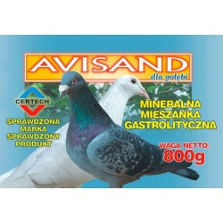 AVISAND mineralna mieszanka gastrolityczna dla gołębi 800g