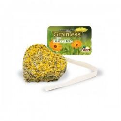 JR Grainless Serca o smaku płatków kwiatów 90 g