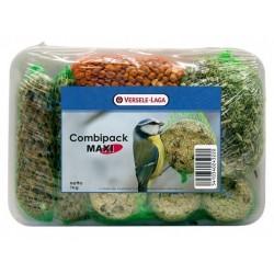 Combipack Maxi 1 kg - kule tłuszczowe+kolby+orzeszki+słonecznik