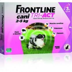 FRONTLINE TRI-ACT XS - 3 szt dla psów - TYLKO ODBIÓR WŁASNY