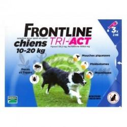 FRONTLINE TRI-ACT M - 3 szt dla psów - TYLKO ODBIÓR WŁASNY