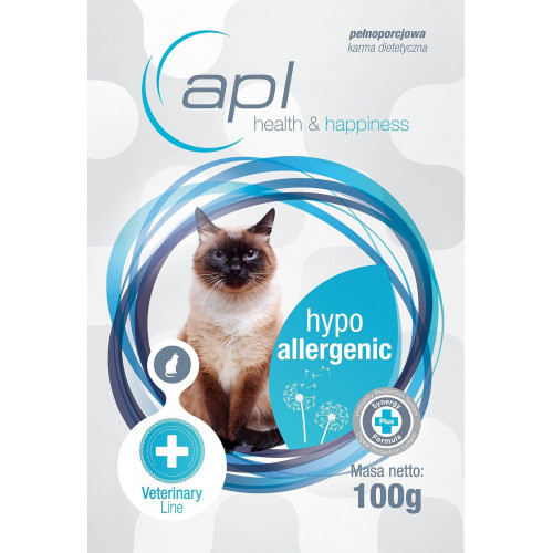 APL Hypoallergenic - karma weterynaryjna dla kotów - saszetka 100 g
