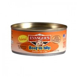 Evanger's Beef it Up karma dla kotów 156 g  w formie pasztetu