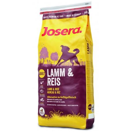 Josera Lamb & Rice 2 x 15 kg + miska gratis - karma dla psów z jagnięciną