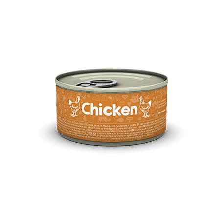 Naturea Chicken 80 g - mokra karma dla kociąt i kotów