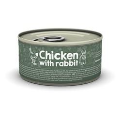 Naturea Chicken Rabbit 85 g - mokra karma dla kotów i kociąt