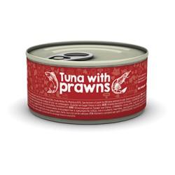 Naturea Tuna Prawns 85 g - mokra karma dla kociąt i kotów