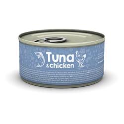 Naturea Tuna Chicken 85 g - mokra karma dla kociąt i kotów