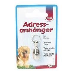 Adresówka duża dla psa srebrna TRIXIE