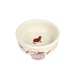 Miska dla kotka z motywem 0.25l/11cm TRIXIE