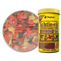 Pokarm płatkowany ICHTIO-VIT 12g TROPICAL