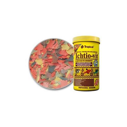 Pokarm płatkowany ICHTIO-VIT 1000 ml / 120g TROPICAL