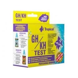 Test do pomiaru twardości ogólnej (GH) i węglanowej (KH) TEST GH/KH TROPICAL