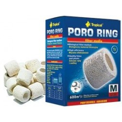 Materiał ceramiczny do filtracji biologicznej PORO RING M TROPICAL