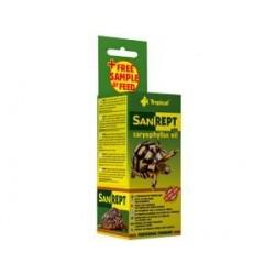 Preparat z olejkiem goździkowym do pielęgnacji skorupy żółwi lądowych SANIREPT 15 ml TROPICAL