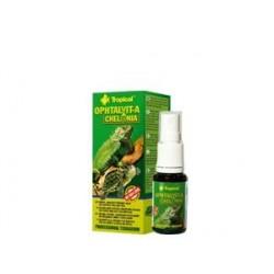 Balsam ziołowy lawendowo-świetlikowy do pielęgnacji skóry i oczu gadów OPHTALVIT-A CHELONIA 15 ml TROPICAL