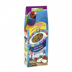 Pokarm dla ptaszków egzotycznych z owocami i kokosem 700 ml / 489 g NESTOR