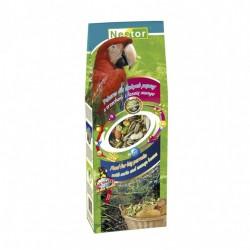 Pokarm dla dużych papug z orzechami i fasolą mungo 700 ml / 420 g NESTOR