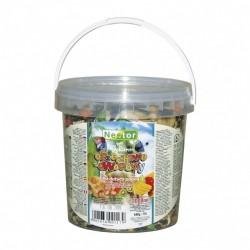 Pokarm dla dużych papug orzechowo-owocowy 1000 ml / 460 g NESTOR