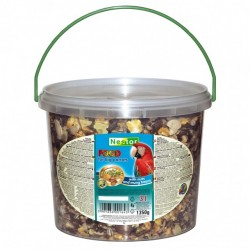 Pokarm dla dużych papug orzechowo-owocowy 3kg / 1,35 kg NESTOR