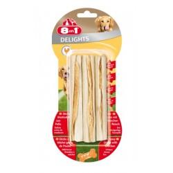 Przysmak Delights Sticks Beef patyczki wiązane z mięsem wołowym 3 szt. 8in1