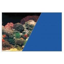W rulonie dekoracja koralowiec/niebieski 30/15 cm ZOLUX