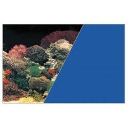 W rulonie dekoracja koralowiec/niebieski 40/15 cm ZOLUX