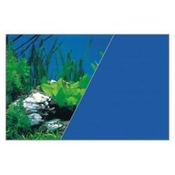 W rulonie dekoracja rośliny skała/niebieski 50/15 cm ZOLUX