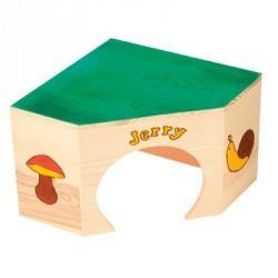 """Domek narożny dla świnki """"Jerry"""" ZOLUX"""
