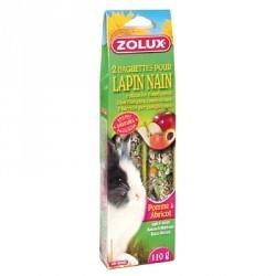 Kolba jabłko-brzoskwinia dla królika 2 szt ZOLUX
